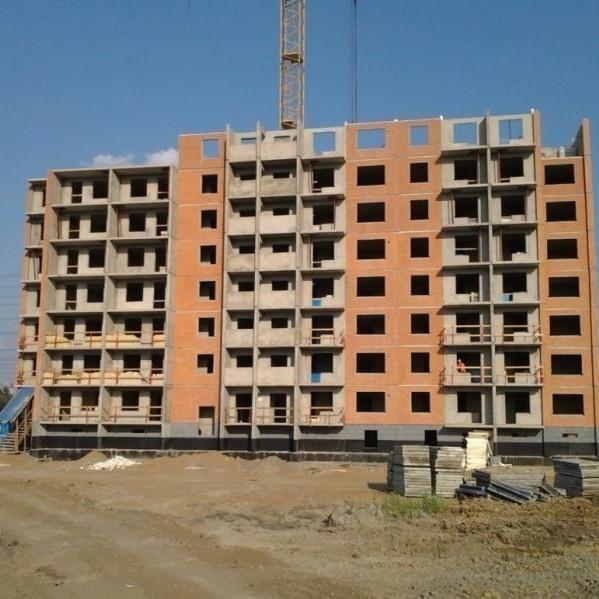 Ход строительства жилого комплекса Охтинская дуга