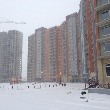 Готовность жилого комплекса Охтинская дуга